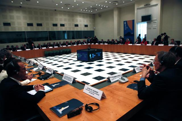 Inaugural meeting of the Greek Presidency of the Council of the EU with the EC