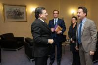 Visit of Xavier Bettel, Luxembourgish Prime Minister, to the EC