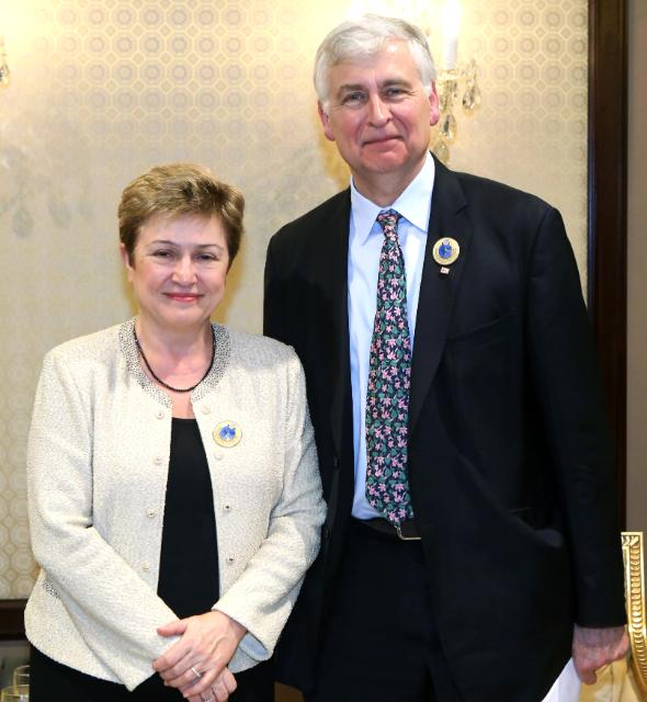 Participation of Kristalina Georgieva, Member of the EC, at the 2nd high-level International Pledging Conference for Syria, organised in Kuwait
