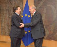 Visit of Evangelos Meimarakis, Speaker of the Greek Parliament, to the EC