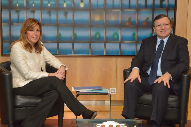 Visit of Susana Díaz, President of the Government of the Autonomous Community of Andalusia, to the EC