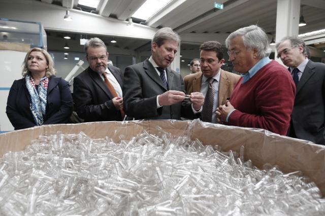 Visit of Johannes Hahn and Maria Damanaki, Members of the EC, to Greece