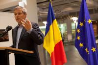 Vernissage de l'exposition 'Romania: people and places', avec la participation de Dacian Cioloş, membre de la CE