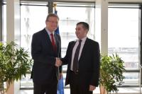 Visit of David Bakradze, Chairman of the Political Board of the United National Movement of Georgia, to the EC