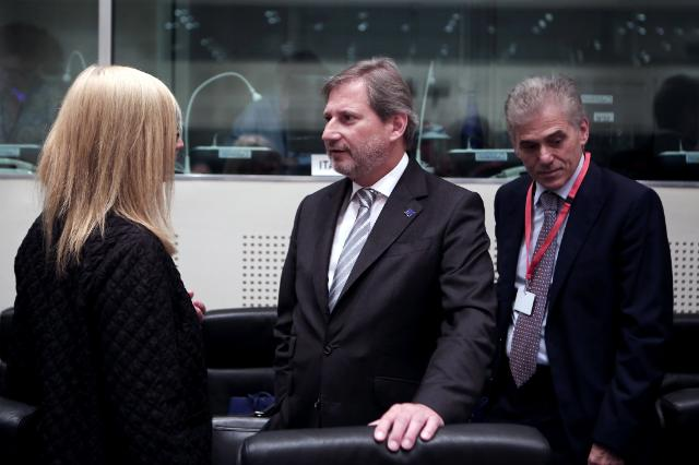 Visit of Johannes Hahn, Member of the EC, to Greece