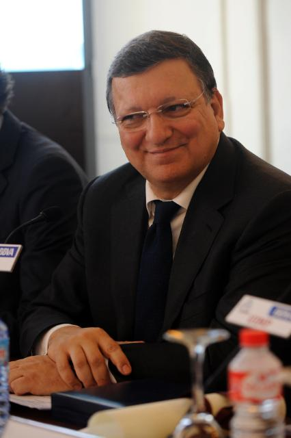 Visit of José Manuel Barroso, President of the EC, to Santander