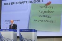Press confrence by Janusz Lewandowski, Member of the EC, on 2015 EU draft budget