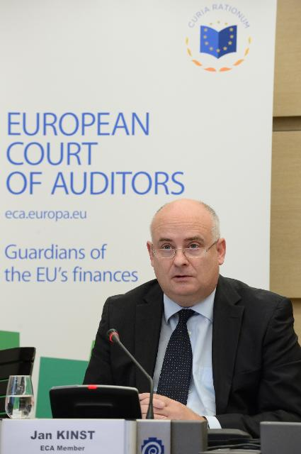 Press conference by Jan Kinšt, Member of the European Court of Auditors, on the EU investment and promotion support in the wine sector