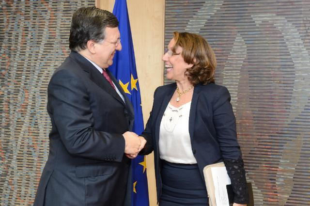 Visit of Rebeca Grynspan, Secretary General of the Iberoamerican General Secretariat, to the EC