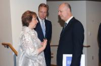 """Illustration of """"Visit of Catherine Ashton, Vice-President of the EC, to the United States"""""""