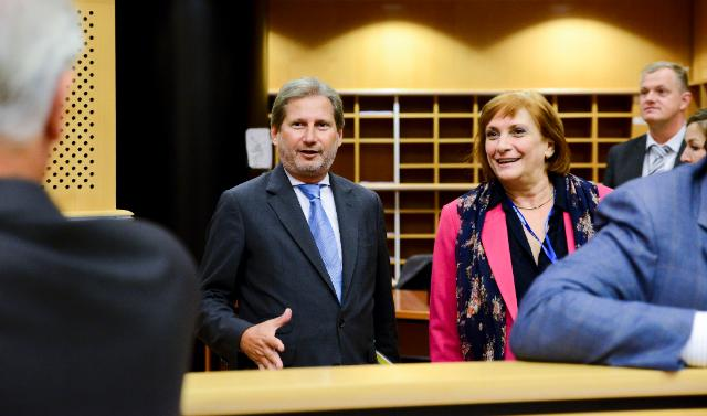 Participation of Johannes Hahn, Member of the EC, at the meeting of the Committee on Regional Development of the EP