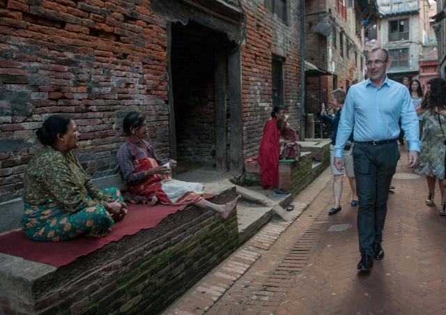 Visit by Andris Piebalgs, Member of the EC, to Nepal