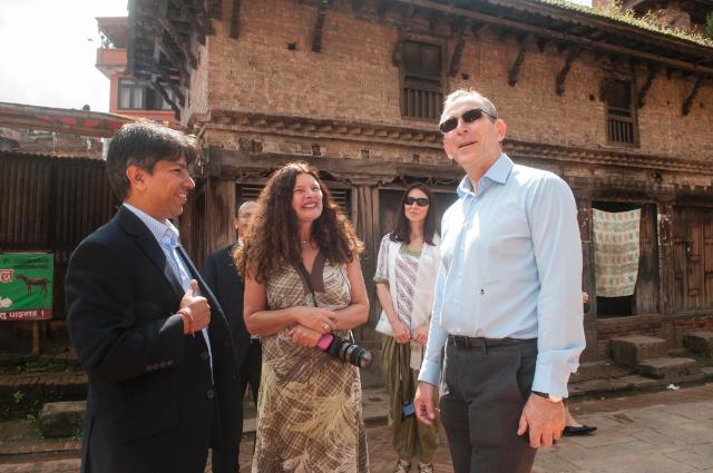 Visit by Andris Piebalgs, Member of the EC, to Nepal