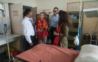 "Illustration of ""Visit by Andris Piebalgs, Member of the EC, to Nepal"""