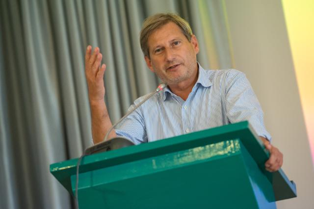 Visit of Johannes Hahn, Member of the EC, to Slovenia