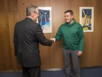 """Illustration of """"Signing ceremony of the Programming Document for the Sustainable Development of Greenland for the..."""
