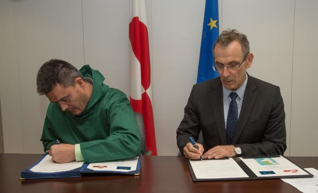 Signing ceremony of the Programming Document for the Sustainable Development of Greenland for the 2014-2020 period