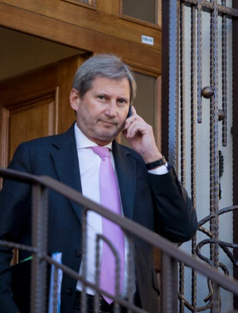 Visit of Johannes Hahn, Member of the EC, to Moldova
