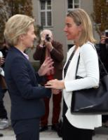 """Illustration of """"Visit of Federica Mogherini, Vice-President of the EC, to Germany"""""""