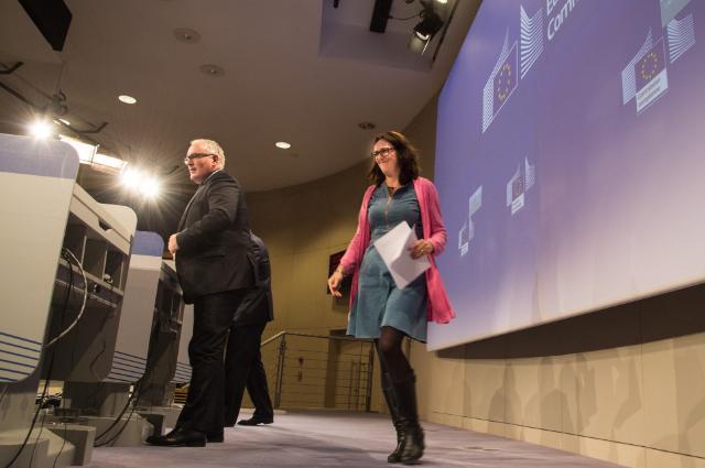 Conférence de presse sur les conclusions de la réunion hebdomadaire de la Commission Juncker