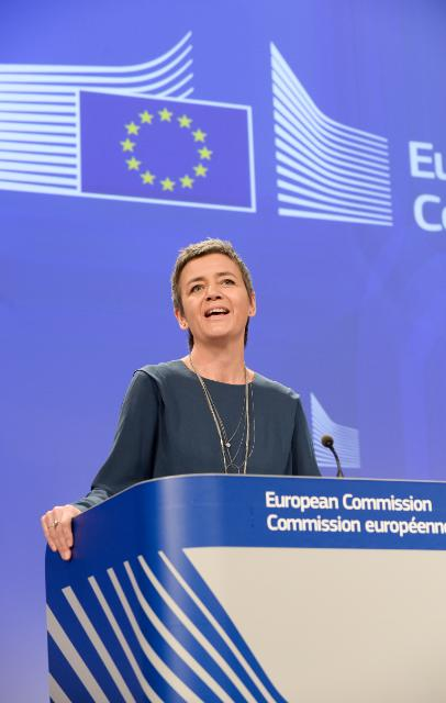 Press conference by Margrethe Vestager, Member of the EC, on the EC fines of over 19.4 million euros to five envelope producers in cartel settlement
