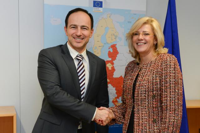 Visit of Andrey Kovatchev, Member of the EP, to the EC