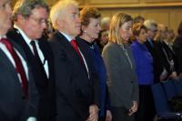 """Illustration of """"Visite de Federica Mogherini, vice-présidente de la CE, en Irlande"""""""