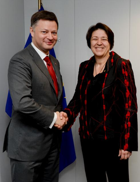 Visit of Arnaud Feist, President of ACI Europe and CEO of Brussels Airport, to the EC