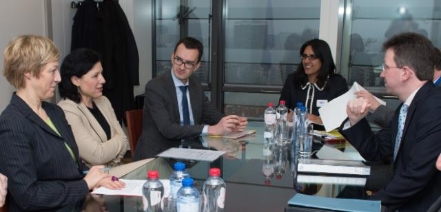 Visit of Jeremy Wright, Attorney General of England and Wales, to the EC