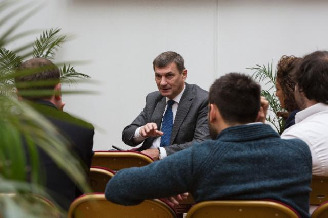 Visit of Andrus Ansip, Vice-President of the EC, to France