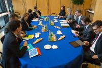 """Illustration of """"Visit of Andrus Ansip, Vice-President of the EC, to France"""""""