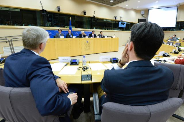 Participation of Maroš Šefčovič, Vice-President of the EC, in a meeting of the ITRE Committee of the EP