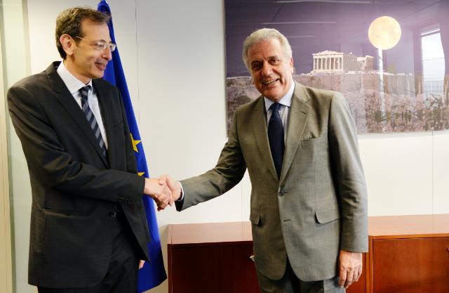 Visit of Ehab Fawzy, Head of the Mission of Egypt to the EU, to the EC