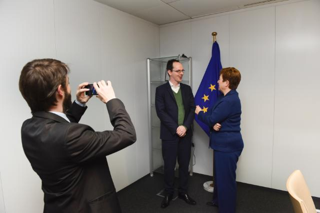 Visit of Carl Dolan, Director of the Transparency International EU Office, to the EC