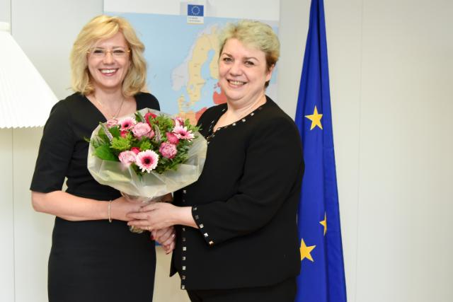 Visit of Sevil Shhaideh, Romanian Secretary of State at the Ministry of Regional Development, to the EC