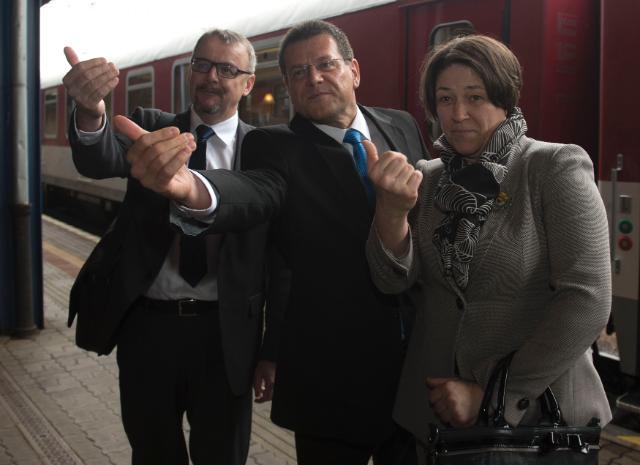 Visite de Maroš Šefčovič, vice-président de la CE, et Violeta Bulc, membre de la CE, en Slovaquie