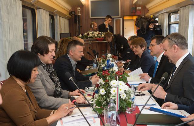 Visit of Maroš Šefčovič, Vice-President of the EC, and Violeta Bulc, Member of the EC, to Slovakia