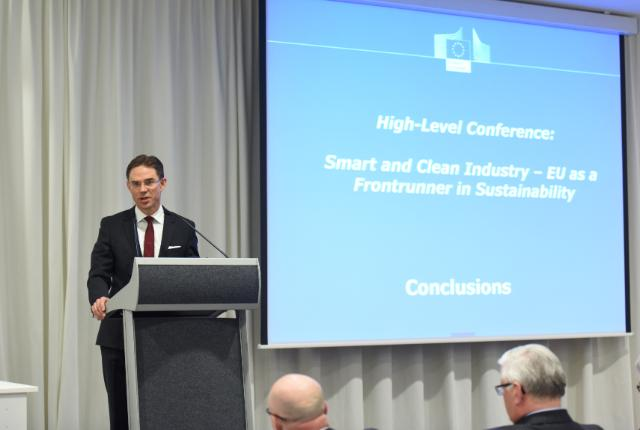 High-Level Conference on 'Smart and Clean Industry – EU as a Frontrunner in Sustainability: Risks or/and Opportunities for Europe's Industries'