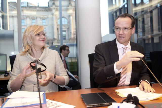 Visit by Corina Creţu, Member of the EC, to Germany