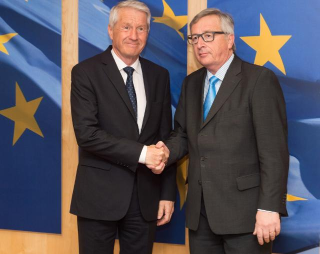 Visit of Thorbjørn Jagland, Secretary General of the Council of Europe, and Member of the Norwegian Nobel Committee, to the EC