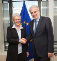 Visit of Margareta Wahlström, Special Representative of the Secretary-General of the United Nations for Disaster Risk Reduction and Head of the Unisdr, to the EC