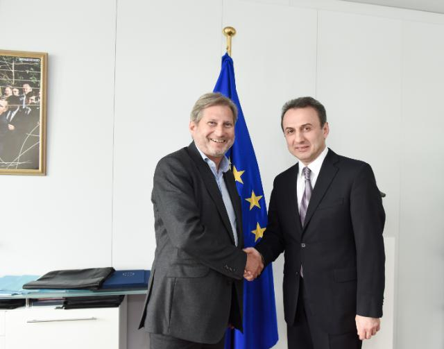 Visit of Tatoul Markarian, Head of the Mission of Armenia to the EU, to the EC