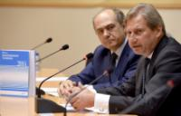"""Illustration of """"Participation of Johannes Hahn, Member of the EC, at the presentation of the IEMed Mediterranean Yearbook..."""