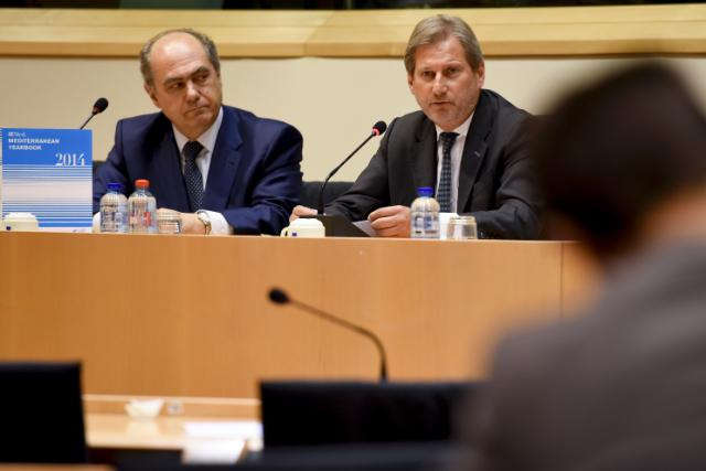 Participation of Johannes Hahn at the presentation of the IEMed Mediterranean Yearbook 2014
