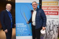 """Illustration of """"Lancement des 20 km de Bruxelles, sous le patronage de Vytenis Andriukaitis, membre de la CE"""""""