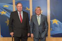 Visit of Paavo Tapio Lipponen, former Finnish Prime Minister, to the EC