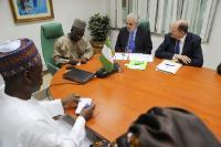 Visite de Christos Stylianides, membre de la CE, au Nigeria