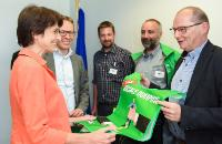 Visit of representatives from Benelux Trade Union to the EC