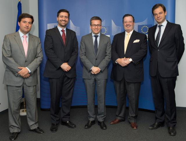 Visit of Bruno Bobone, President of the Portuguese Committee of International Chamber of Commerce, to the EC