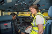 "Illustration of ""Participation of Violeta Bulc and Patrick Ky, Executive Director of the European Aviation Safety Agency..."